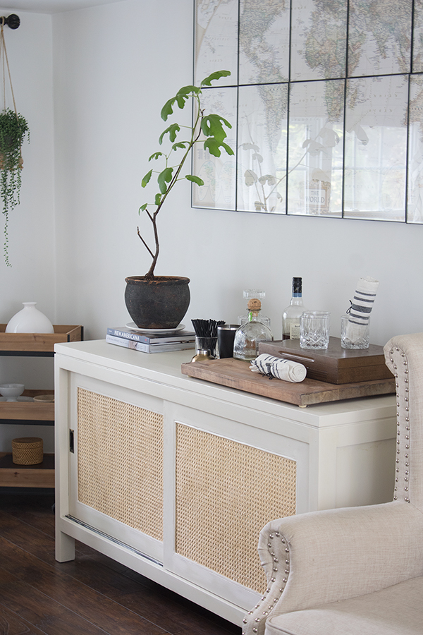 Caned sideboard how to do it yourself for a fraction of the cost of the designer version