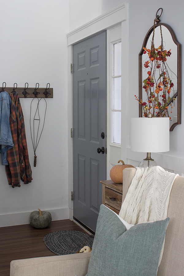 creating an entryway when there isn't one