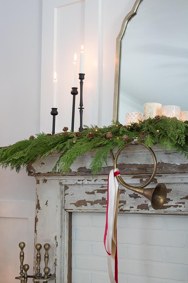 Christmas garland fresh Cedar