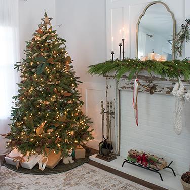 Woodland Themed Christmas Tree