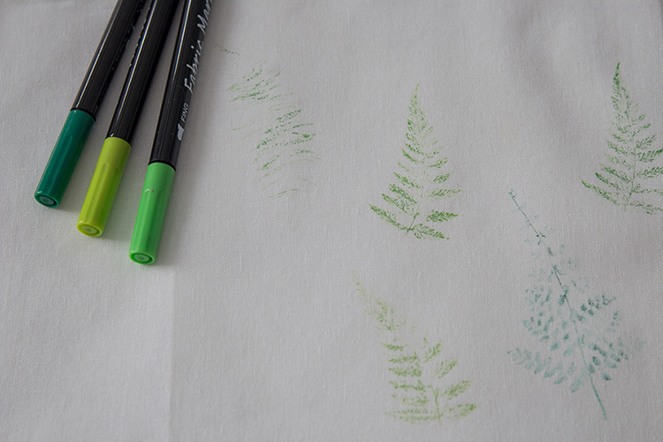 3 ways to stamp fabric how to