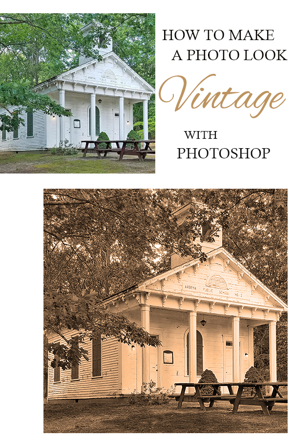 how to make photos look old and vintage in photoshop