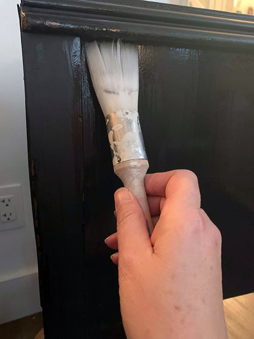 Which clear coat to use on painted furniture