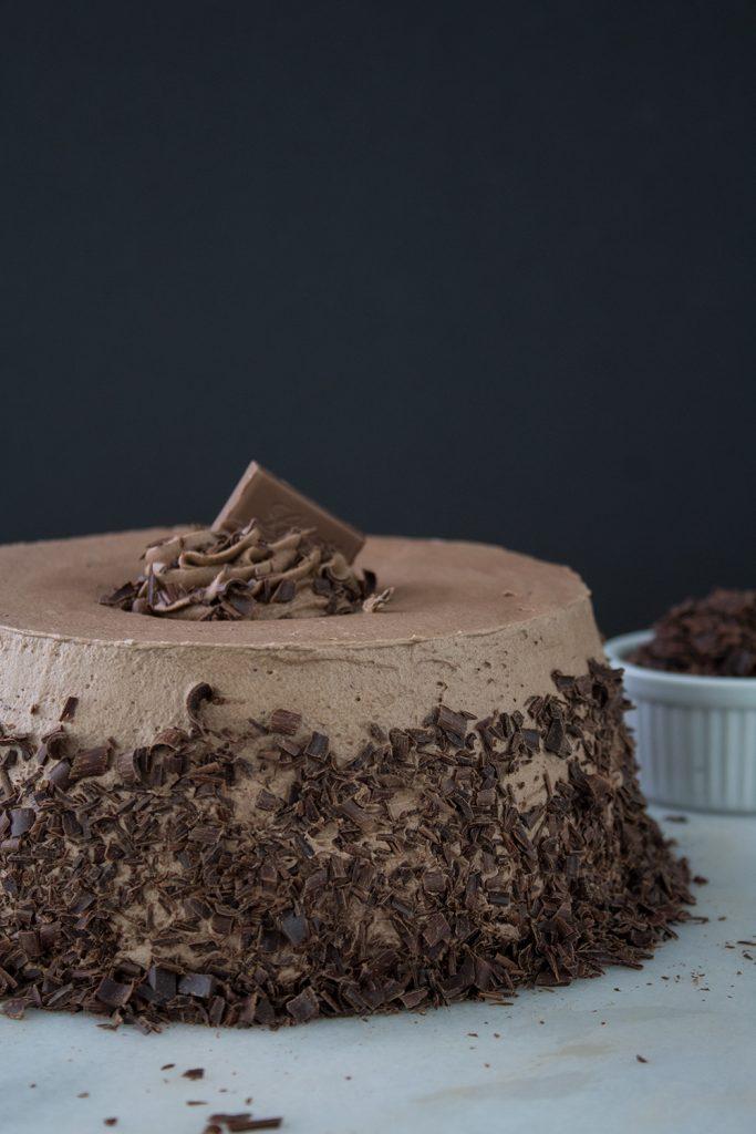 Angel food cake frosting recipe chocolate