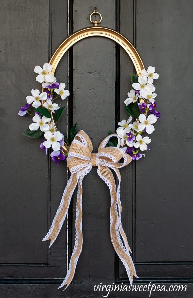 thrift store upcycles - recycled crafts picture frame  wreath diy