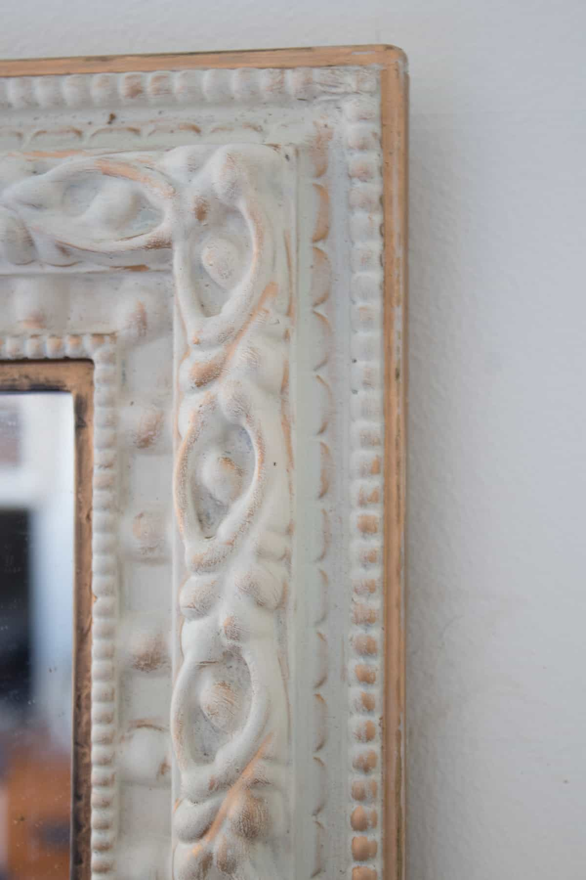 how to paint a mirror frame antique gold