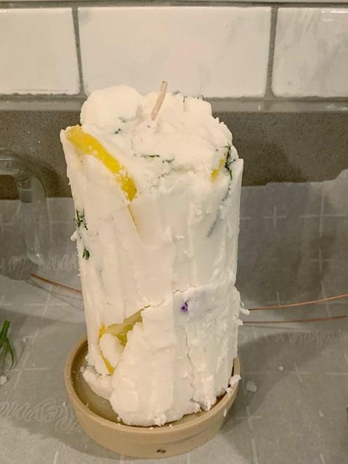 candle mistake diy - Pinterest fail