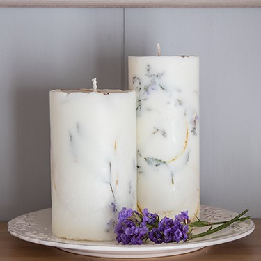 How To Make Candles With Flowers