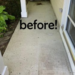 painted concrete how to