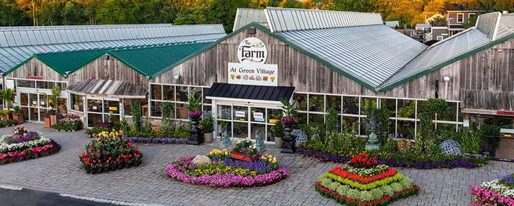 The-farm-at-Green-Village-exterior-front - lawn care for beginners