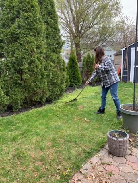how to prep lawn for grass seed
