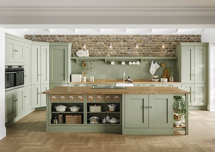 traditional design style kitchen