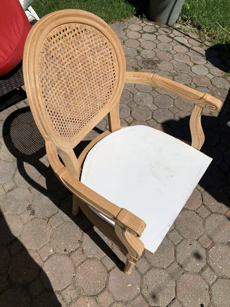 how to make a wooden chair seat