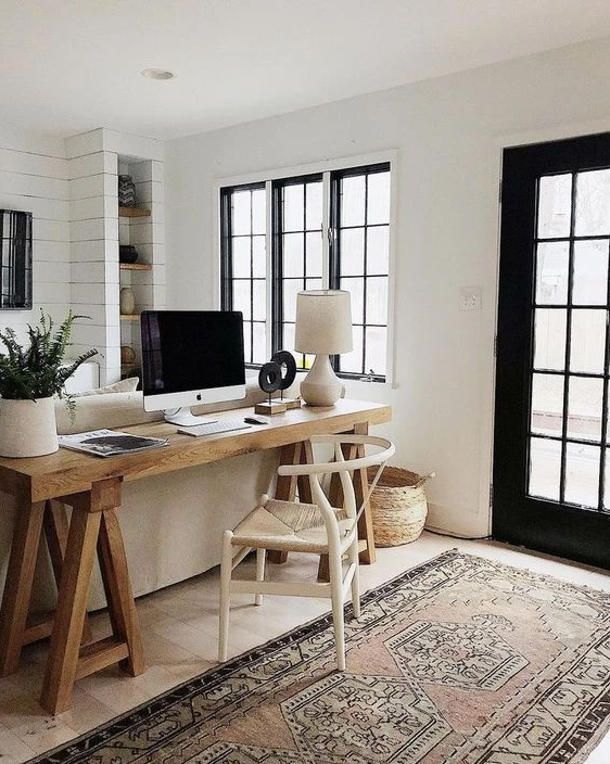 office space in living room