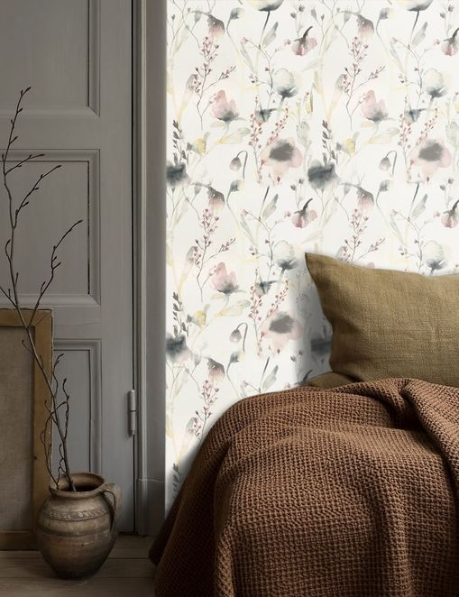gray wallpaper and paint ideas