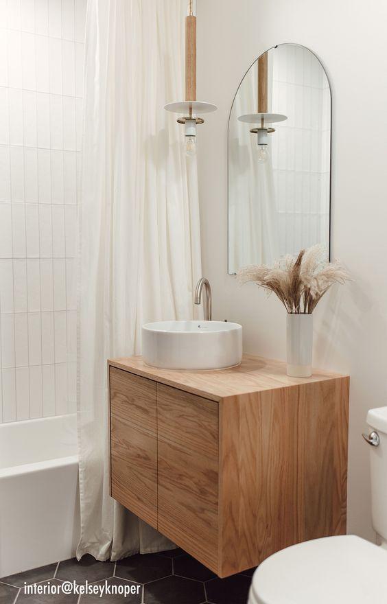 modern Scandinavian bathroom