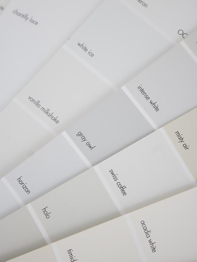 The Best White Paint Colors