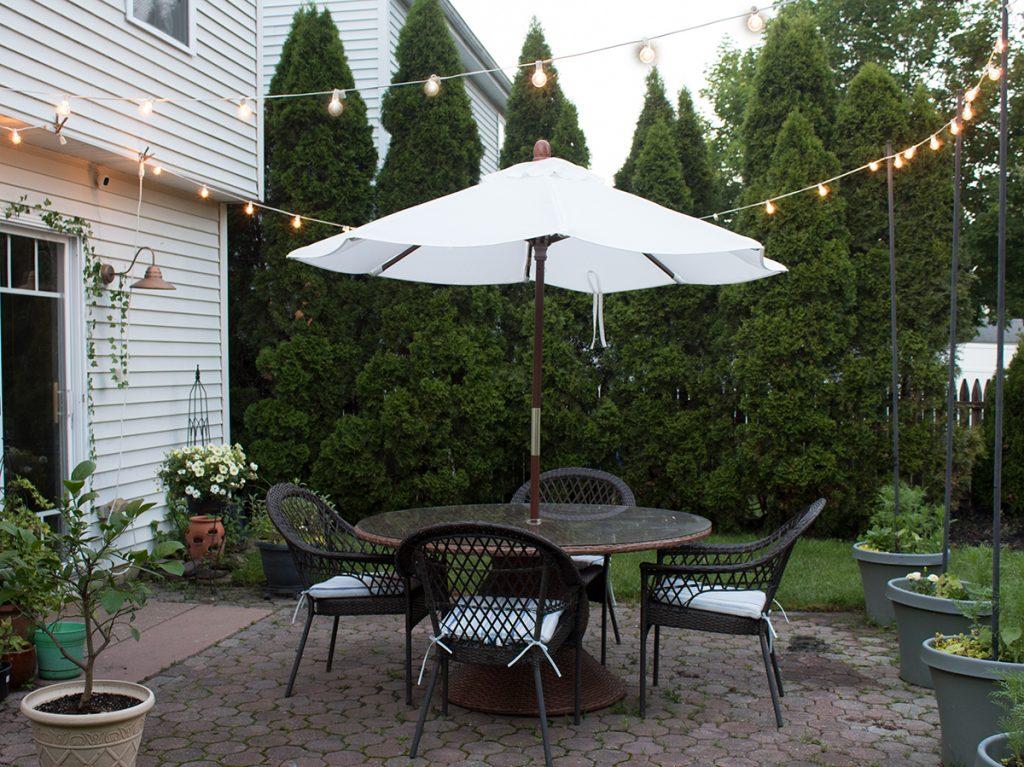 patio dining set round table