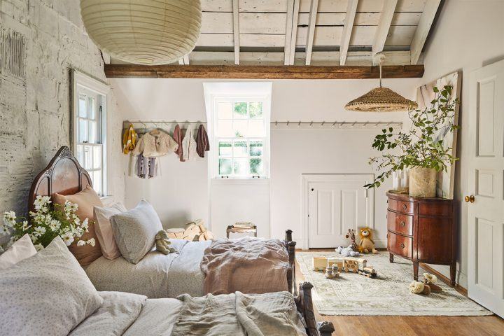 Leanne Ford cottage bedroom