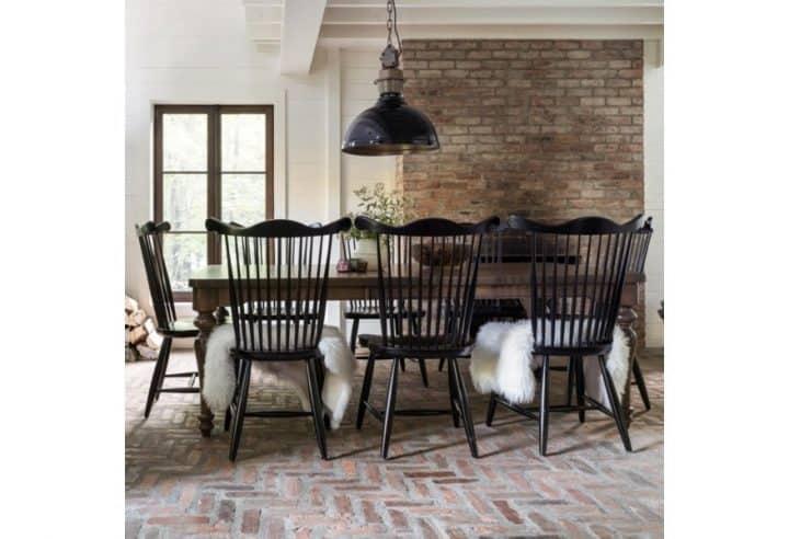 rustic interior design dining room