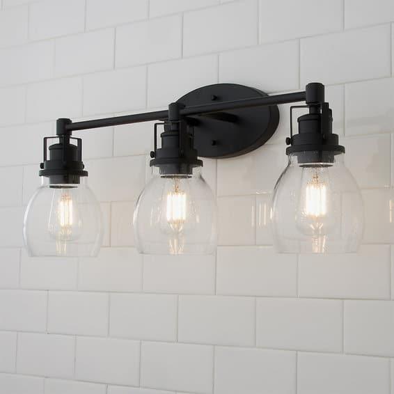 timeless bathroom lighting
