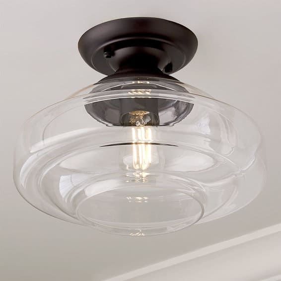 light fixtures for 8' ceilings