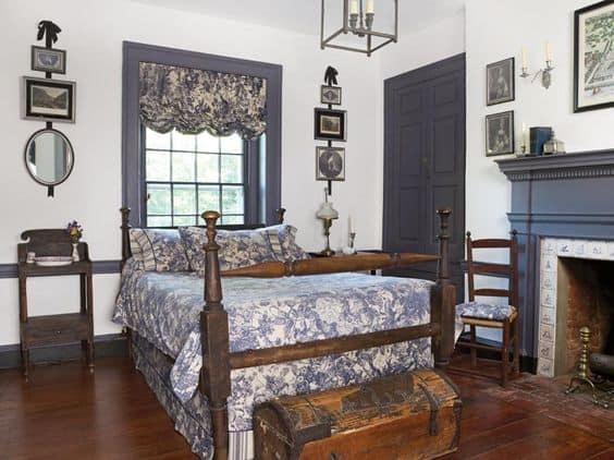 traditional vintage farmhouse style