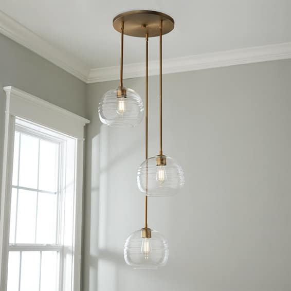 classic lighting for foyer and entry