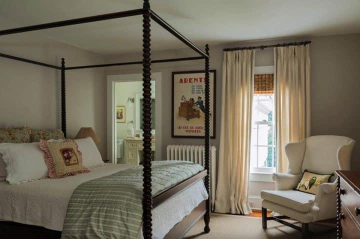modern vintage bedroom design