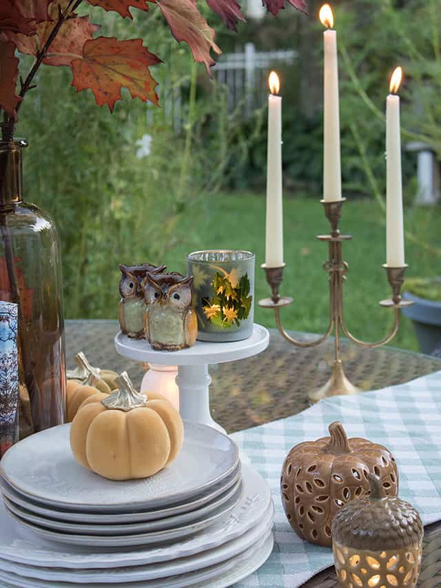 Use These 5 Things For A Beautiful Fall Table