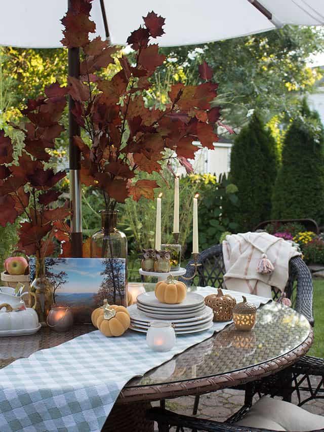 Fall Table Setting Ideas