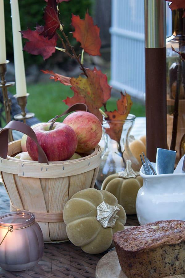 fall apple baskets