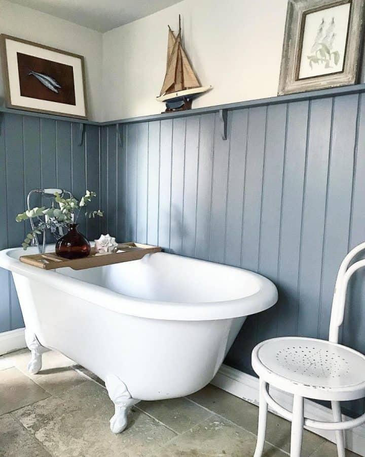 paneled bathroom ideas