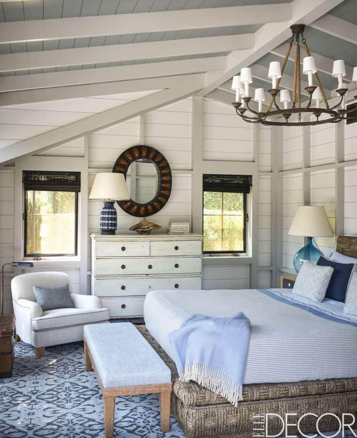 hamptons style bedroom ideas