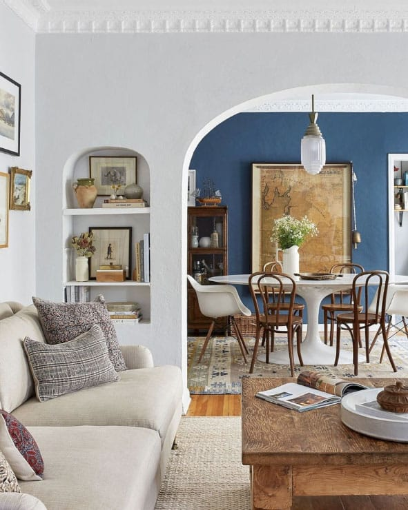 eclectic interior design ideas traditiional and modern combined