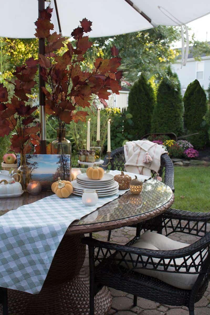 beautiful fall table setting ideas