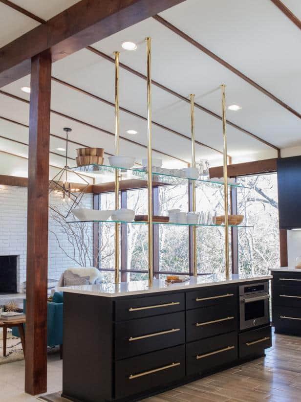 mid centry modern  kitchen style