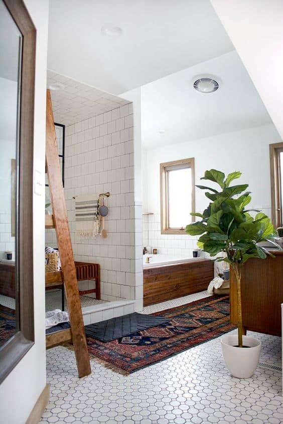 classic modern bathroom design