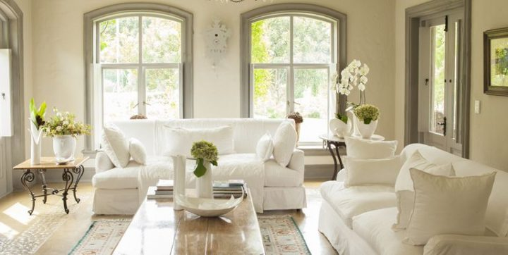 cottage and traditional interiors